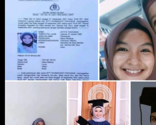 Tak Pulang Rumah 12 Hari, Pihak keluarga Datangi Polres Buru Buat Laporan Polisi